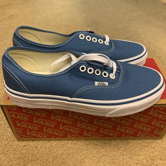 Womens Vans Authentic Shoes Navy